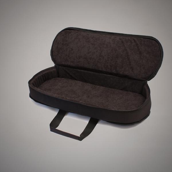 Estuche acolchado abierto para gaita tipo mochila