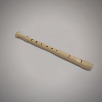Flauta Hohner de plástico trucada para digitación de gaita