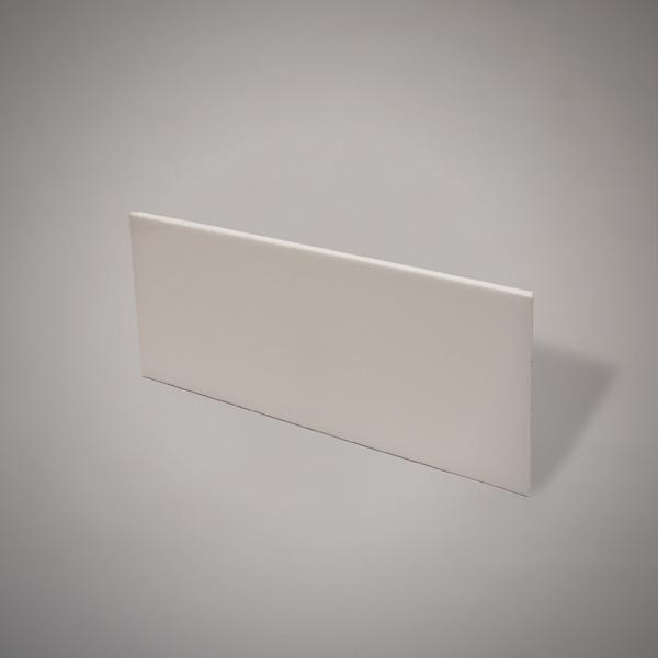 Plancha de metacrilato color blanco de 12 mm de espesor