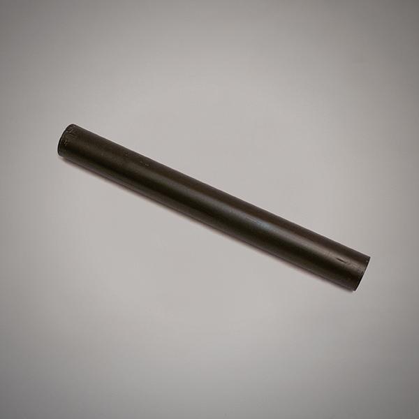 Resina de color negro de 74 mm de longitud