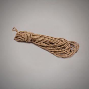 Cuerda de cáñamo de 6 mm de diámetro