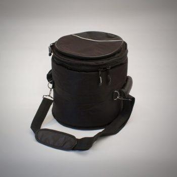 Funda para tamboril de 33 mm de acolchado y con bolsillo exterior
