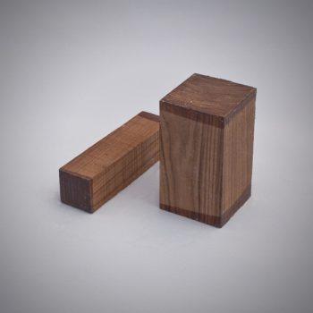 Juego de madera de Pau Ferro para construcción de gaitas