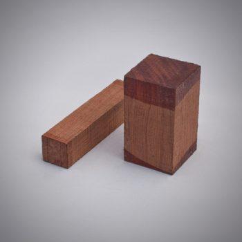 Juego de madera de bubinga para construcción de gaitas