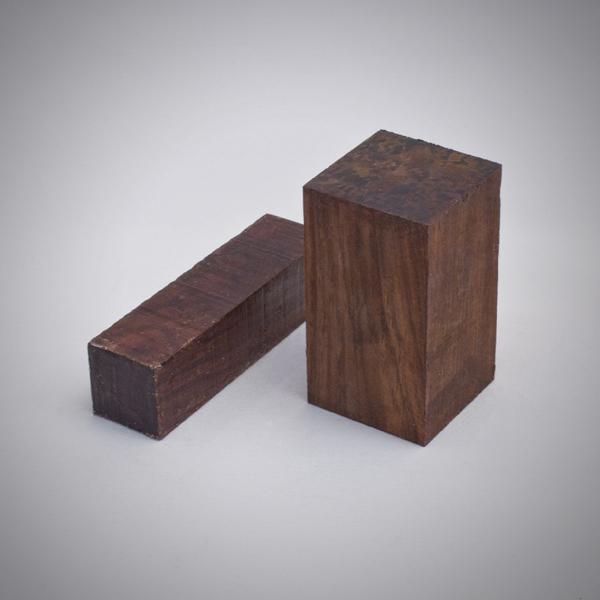 Juego de madera de Coco-bolo para construcción de gaitas