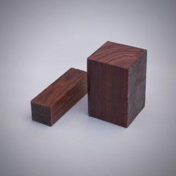 Juego de madera de Palo violeta para construcción de gaitas