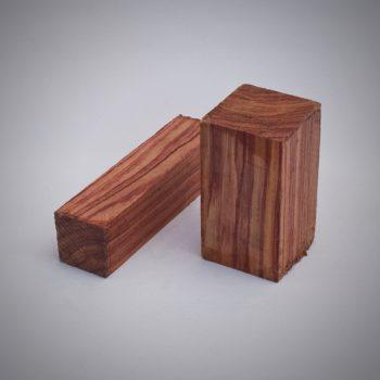 Juego de madera de Palo rosa para construcción de gaitas