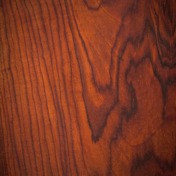 Detalle de madera de cocobolo