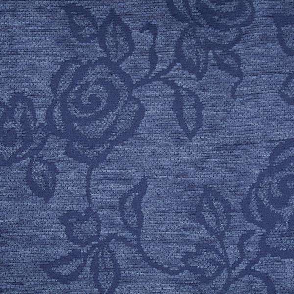 Tela gruesa especial para vestido de gaita color azul