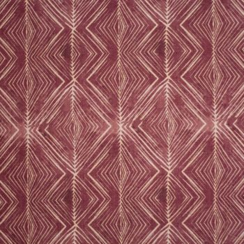 Tela con líneas en morado para vestidos gaita