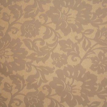 Tela brocada marrón claro-beige para vestidos gaita